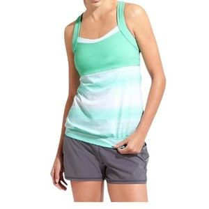 Athleta Mint Stride Crunch And Punch Tank Size XXS